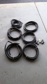 "6 - 15 ft long, 1/2"" Vinyl Pond Tubing hose with 5 locking couplers in Joliet, Illinois"