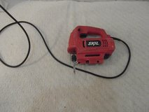 skil 4295-01 red hand held jigsaw 4.5 amp wall plug corded power tool 34140 in Fort Carson, Colorado