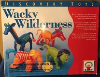 discovery toys 2003 wacky wilderness game build 4 animals all pieces complete in Lockport, Illinois