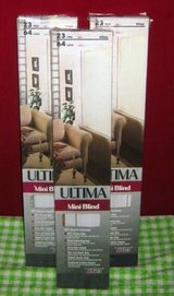 MINI BLINDS 23 x 64 - 6 each or 15 for 3 in Naperville, Illinois