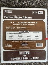 Lot of (10) Pioneer Refill R-57 Pocket Photo Album Refill NEW SEALED in Fort Bliss, Texas