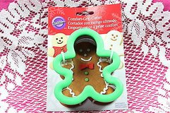 wilton  2310-602 comfort grip cutter gingerbread boy in Kingwood, Texas
