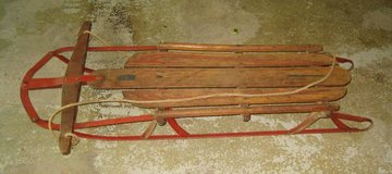 VINTAGE Champion Sled - Kalamazoo Sled Co. in Oswego, Illinois