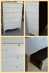 Tall Five Drawer Dresser in Naperville, Illinois