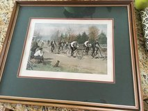 ART - Matted & Framed Bicycle Race Print in Batavia, Illinois