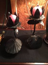 Seashell, Flower Candle Holders (Set of 2) in Wilmington, North Carolina