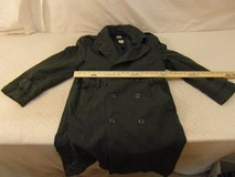 army vintage mans wool 34s gabardine ag-44 overcoat / 34s nylon removable liner  00022 in Huntington Beach, California