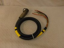 military surplus hvac generator 208vac 3ph 4w 60hz 60a ac power input cable 00023 in Huntington Beach, California