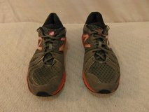 mens new balance gray orange baddeley 890v2 lace up 13 running athletic shoes  34235 in Huntington Beach, California