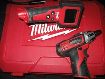 INSPECTION CAM/ COMPACT POWER DRIVER in Lockport, Illinois