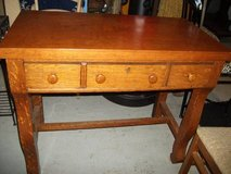 ANTIQUE  DESK WITH COMPANY TAG STILL ON IT in Bartlett, Illinois