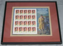 ART - 3 Matted & Framed LEGENDS OF HOLLYWOOD STAMP SETS in Aurora, Illinois