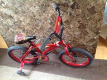 "14"" Huffy Disney Cars Boys' Bicycle in Joliet, Illinois"
