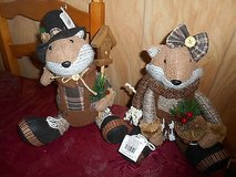 "Christmas Plus Squirrels (Mr & Mrs) 15"" Very Cute Pair! in Bellaire, Texas"