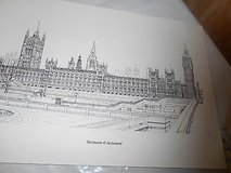 """THE HOUSES OF PARLIAMENT""   Copy of a Pencil Drawn Picture! in Houston, Texas"