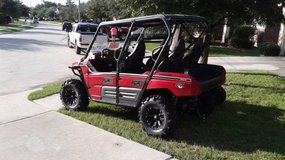 Kawasaki Tyrex 750eps 4 seater side x side in Cleveland, Texas