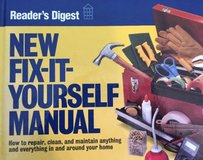 Fix-It-Yourself Manual Readers Digest 1996 Hard Cover in Chicago, Illinois