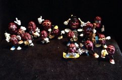 vintage collection of 16 unique california raisin figures 1987 1988 applause in Bartlett, Illinois