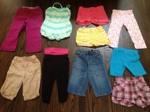 Girl lot of 10 shorts and Capri size 4/5 in Bartlett, Illinois