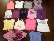 16 Girl summer shirts size 5 small 5/6 6 Childrens Place Gap Lands End in Bartlett, Illinois