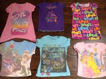 Girl shirts lot of 15 size 6 in Bartlett, Illinois