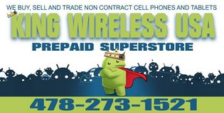 We Unblock bad reported Phones!! @ King Wireless USA in Perry, Georgia