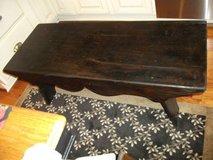 RUSTIC,PRIMITIVE ALL WOOD BENCH FROM A CABIN - furniture - by owner - sale in Naperville, Illinois