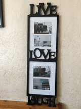 Live Live Laugh collage frame - household items - by owner - housewares sale in Camp Pendleton, California
