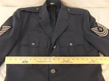 vintage usaf mans tropical polyester wool shade 1549 10 oz 43r servicedress coat  00074 in Fort Carson, Colorado