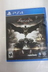 PS4 game Batman: Arkham Knight - PlayStation 4 - video gaming - by owner - electronics media sale in Lockport, Illinois