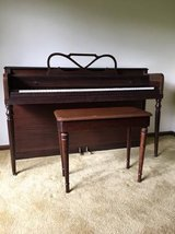 cable nelson upright piano in Naperville, Illinois