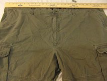 mens big tall redhead 54 x 32 olive drab green cotton zip fly cargo casual pants  00056 in Fort Carson, Colorado