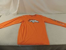 nfl team apparel nike dri-fit long sleeve shirt mens medium denver broncos 51169 in Fort Carson, Colorado