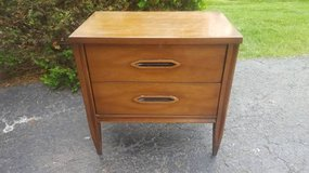 2-drawer mcm hooker brand nightstand in Naperville, Illinois