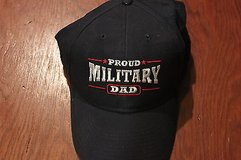 proud military dad hat - adjustable ball bill cap in Kingwood, Texas