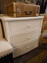 Cottage wicker chest of drawers in Elgin, Illinois