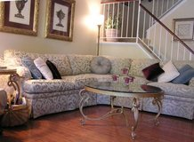 Thomasville 3 pc sectional sofa in Lockport, Illinois