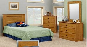 factory select new 3pc bedroom group in Beaufort, South Carolina