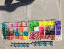 rainbow loom w/bands and case in Kingwood, Texas