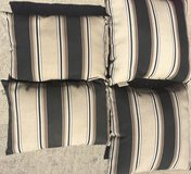 set of 4 pillows for patio furniture in Kingwood, Texas