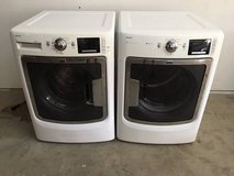 maytag maxima front loader washer and dryer - white in Tomball, Texas