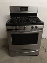 frigidaire gallery gas range with 5 sealed burners - stainless in Tomball, Texas