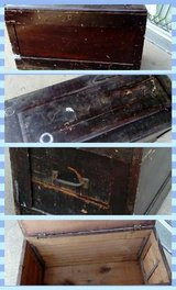 antique handmade trunk in Orland Park, Illinois