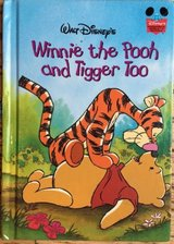 Vintage 1996 Walt Disney's Winnie the Pooh and Tigger Too Wonderful World Of Reading Hard Cover ... in Chicago, Illinois