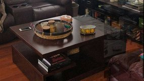 coffee table and side table from ashley in Chicago, Illinois
