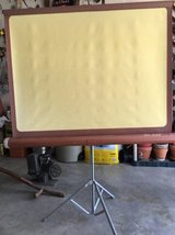 VINTAGE-DA-LITE-COMET-MOVIE-PROJECTOR-SCREEN-AND-TRIPOD in Oswego, Illinois