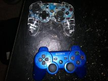 2 playstation controllers  these are not wireless in Roseville, California