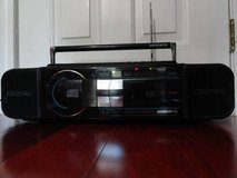 VINTAGE 1987 MAGNAVOX D8880 AM/FM CASSETTE CD BOOMBOX w/ GRAPHIC EQUALIZER in Fairfield, California