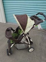 graco reclining baby stroller with large storage compartment in Vacaville, California