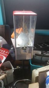 northwestern 50 cent high top coin vending with stand in DeKalb, Illinois